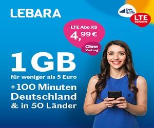 Prepaid - LTE Abo XS