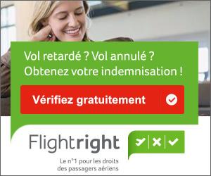 Réclamation et indemnisation avec Flightright